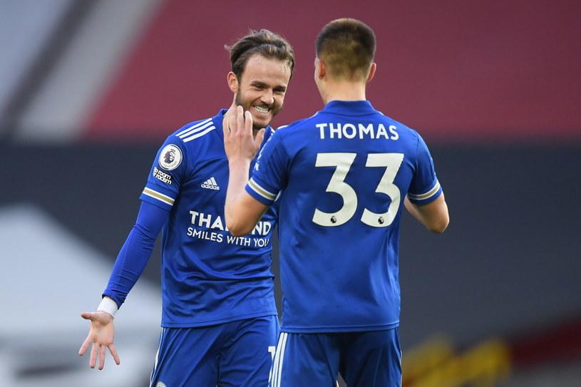 Piłkarze Leicester City /PAP/EPA