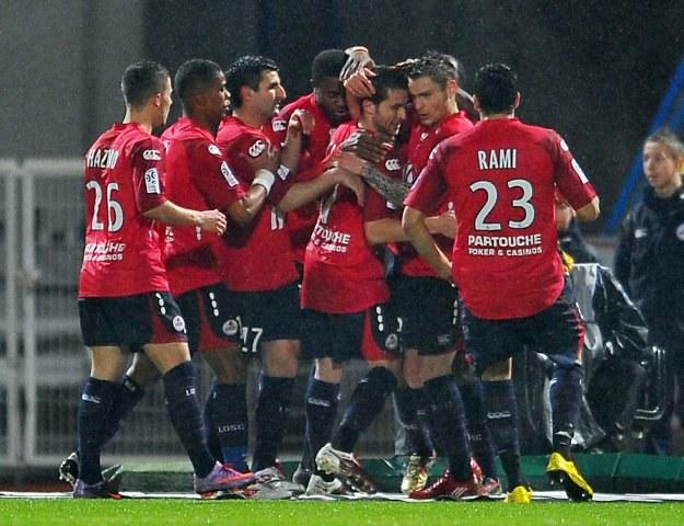 Piłkarze Lille OSC /AFP