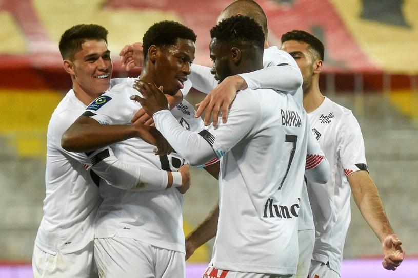 Piłkarze Lille /AFP