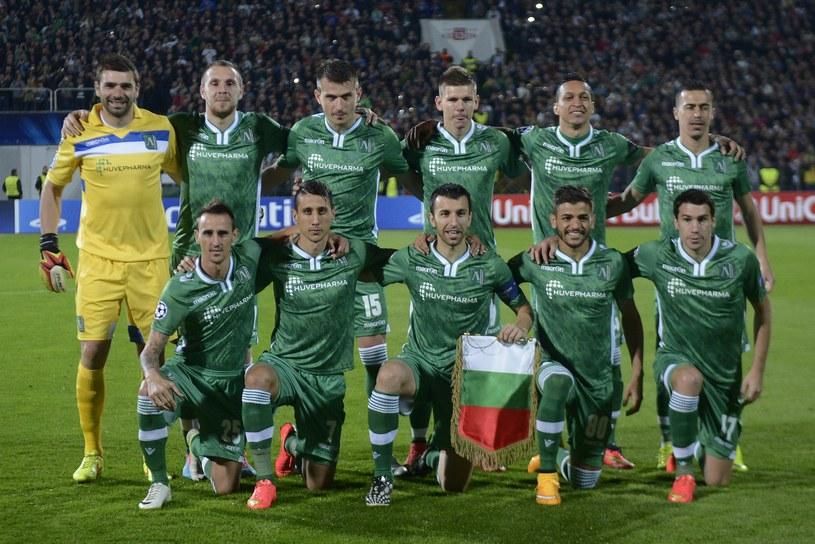 Piłkarze Łudogorca Razgrad przed meczem z Realem Madryt /AFP