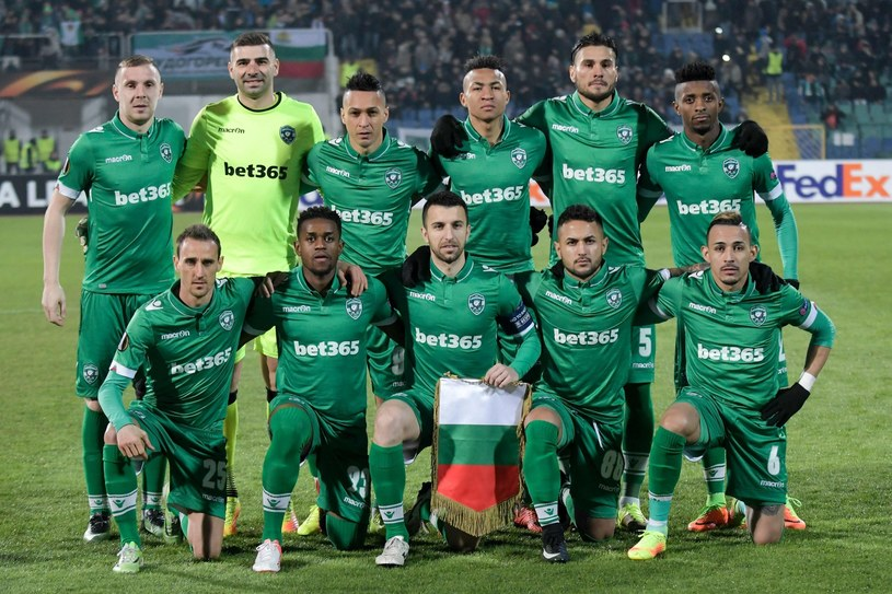 Piłkarze Łudogorca Razgrad /AFP