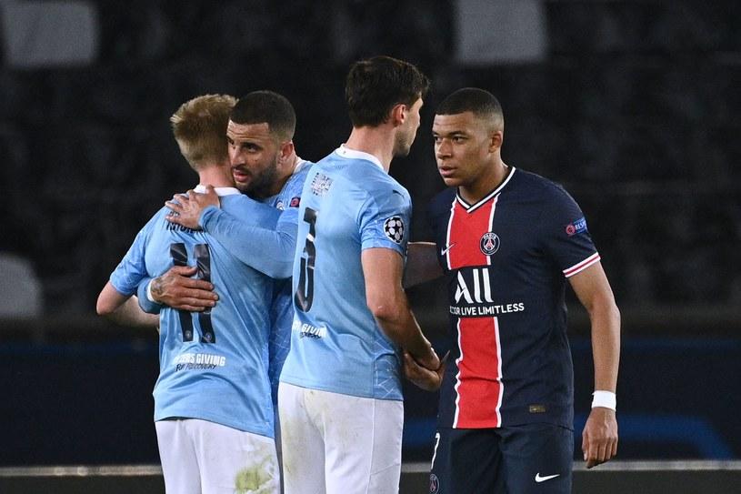 Piłkarze Manchesteru City są w dobrej sytuacji przed rewanżem z PSG /AFP