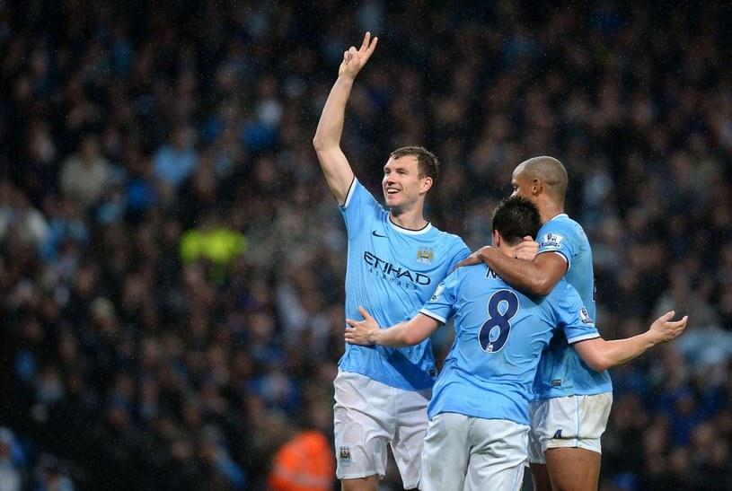 Piłkarze Manchesteru City zostali w niedzielę mistrzami Anglii /AFP
