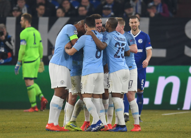 Piłkarze Manchesteru City /AFP
