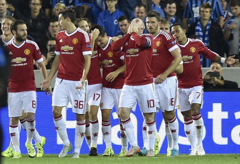 Piłkarze Manchesteru United powrócili do Ligi Mistrzów /AFP