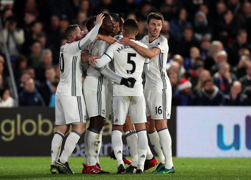 Piłkarze Manchesteru United /Christopher Lee /Getty Images