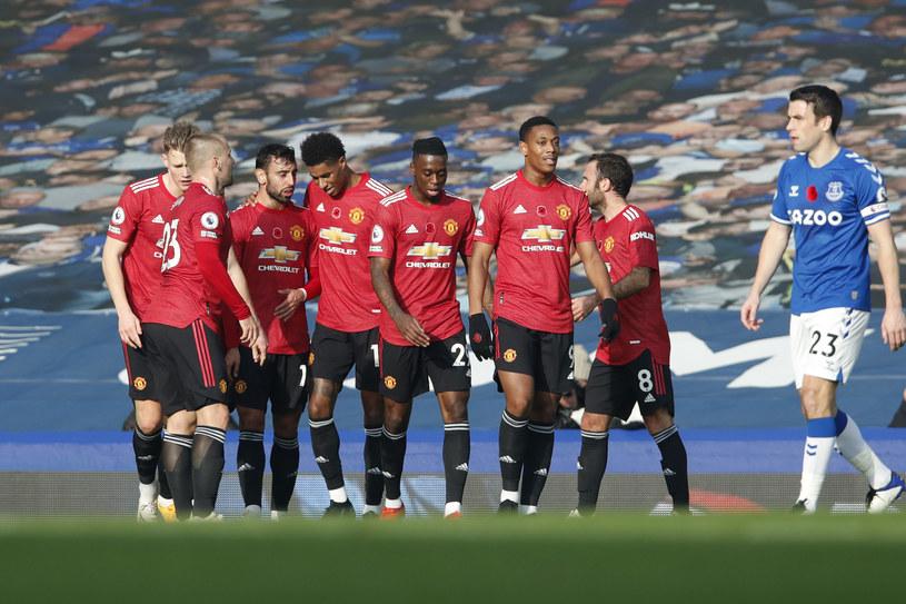 Piłkarze Manchesteru United /Clive Brunskill /Getty Images
