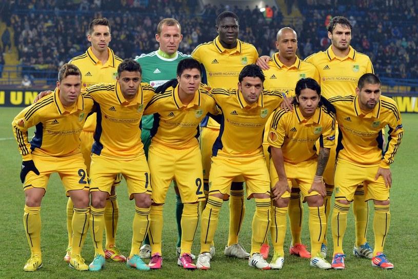 Piłkarze Metalista Charków mogą zostać wykluczeni z Ligi Mistrzów /AFP