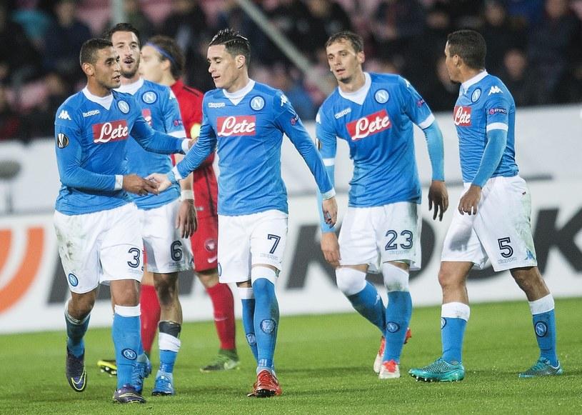 Piłkarze Napoli kroczą od zwycięstwa do zwycięstwa /AFP