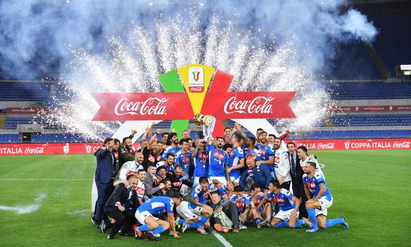 Piłkarze Napoli wygrali tegoroczną edycję Coppa Italia /PAP/EPA