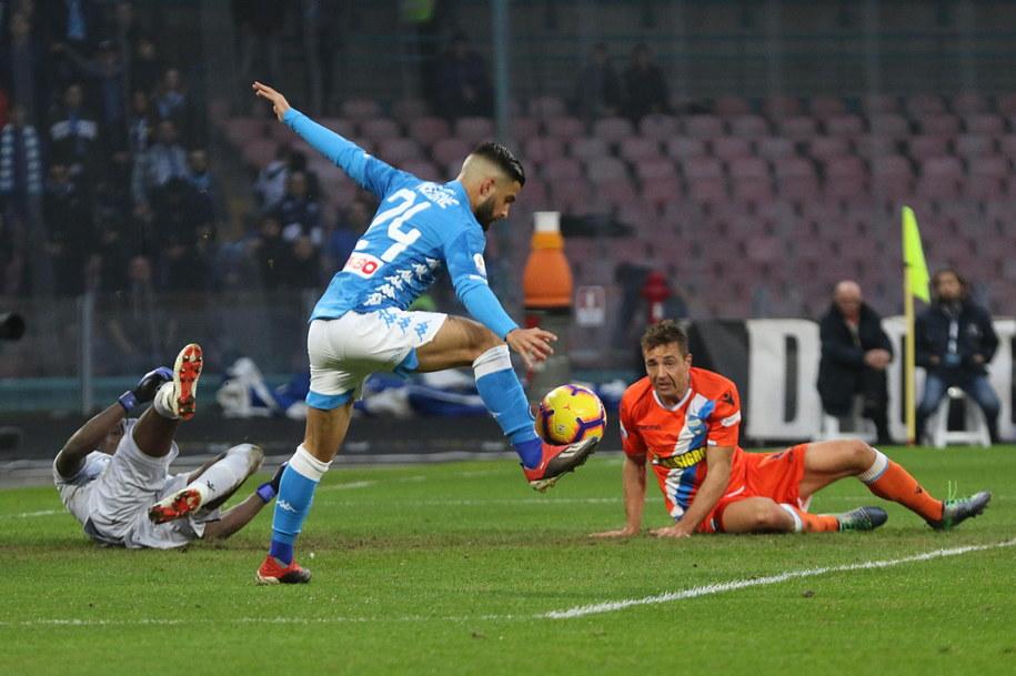 ef425b0fb Piłkarze Napoli zagrają w święta z Interem /CESARE ABBATE /PAP/EPA