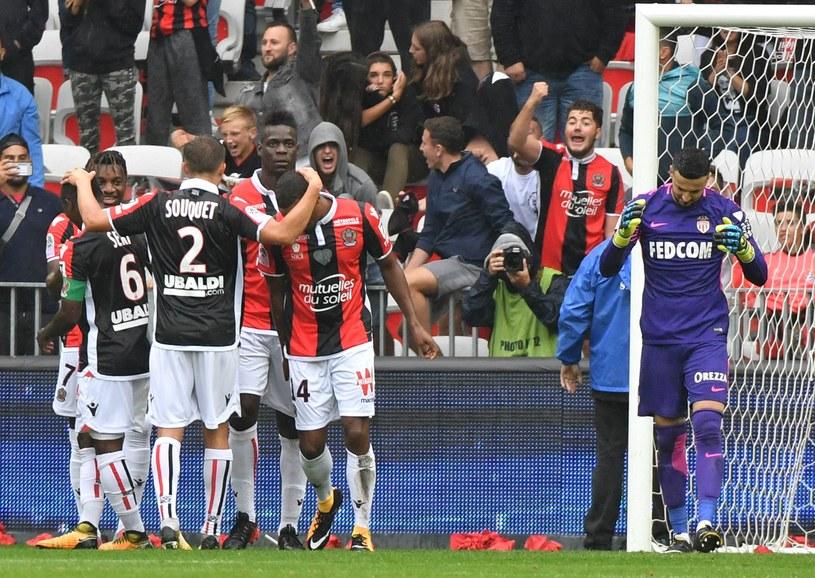 Piłkarze Nice mają powody do radości /AFP