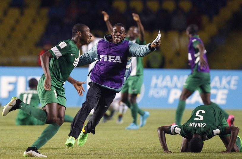 Piłkarze Nigerii /AFP