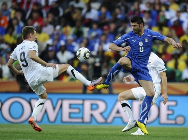 Piłkarze Nowej Zelandii sprawili niespodziankę remisując z Włochami 1-1 /AFP