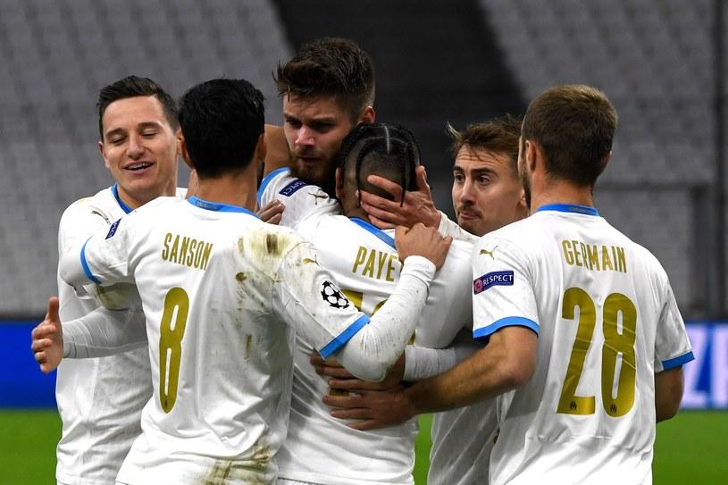 Piłkarze Olympique'u Marsylia /AFP