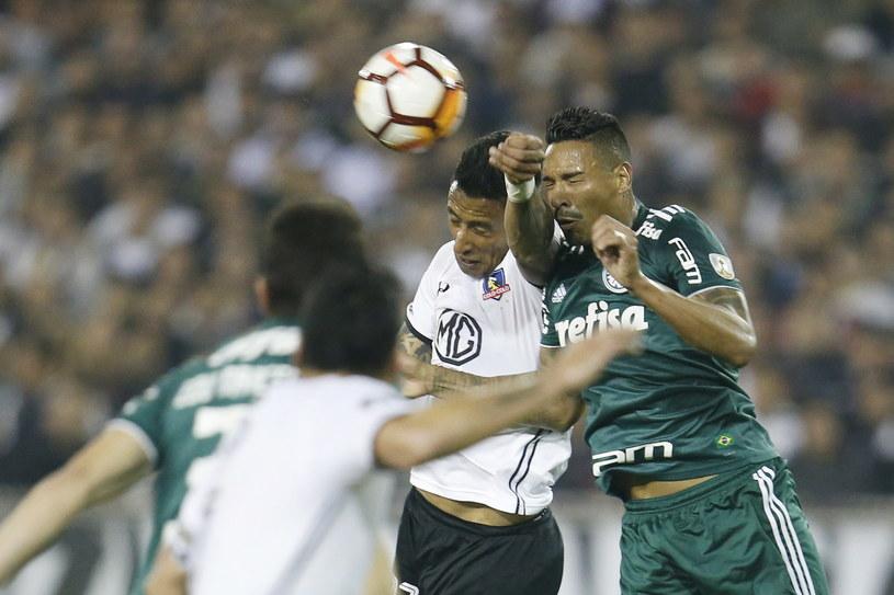 Piłkarze Palmeiras Sao Paulo zrobili duży krok w kierunku półfinału /PAP/EPA