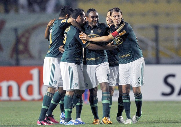 Piłkarze Palmeiras w obawie przed fanami wynajęli ochronę /AFP