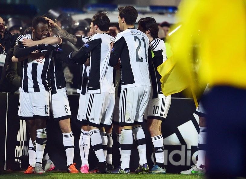 Piłkarze Partizana Belgrad /AFP