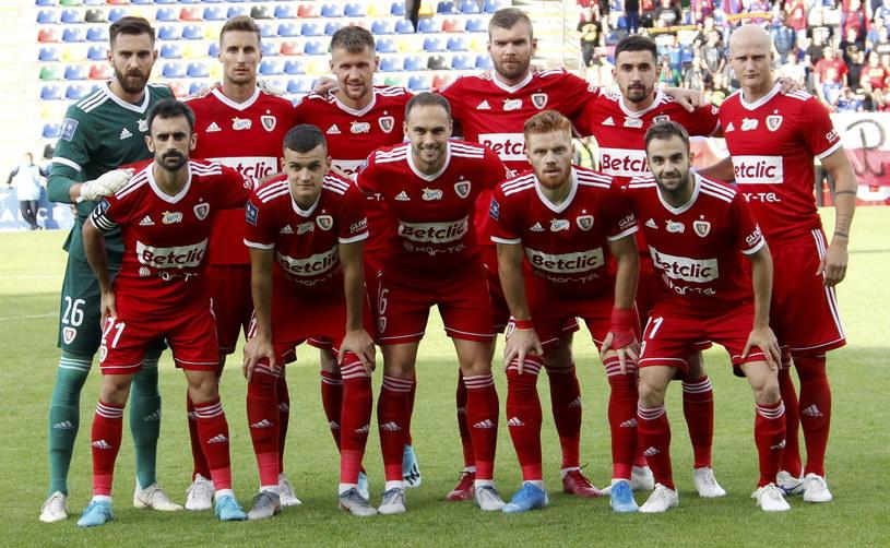 Piłkarze Piasta zawiedli w europejskich pucharach /TOMS KALNINS  /PAP/EPA