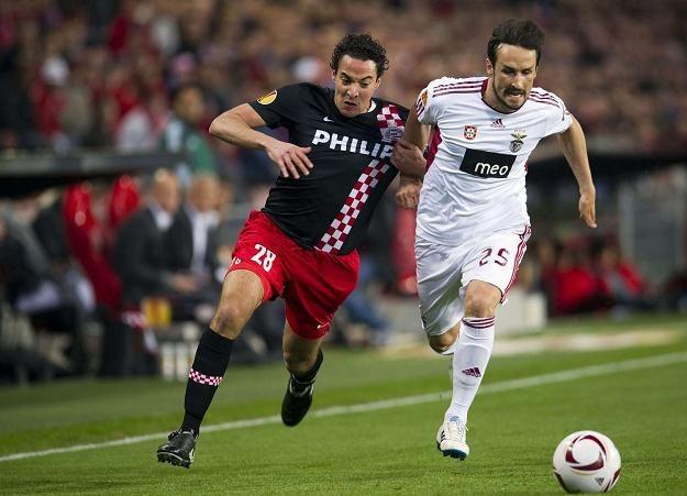Piłkarze PSV i Benfiki zmierzą się na stadionie we Wrocławiuz ze Śląskiem /AFP