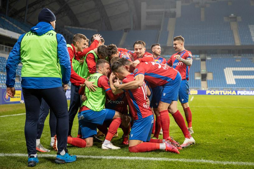 Piłkarze Rakowa Częstochowa /PAWEL JASKOLKA/AGENCJA SE/East News /East News