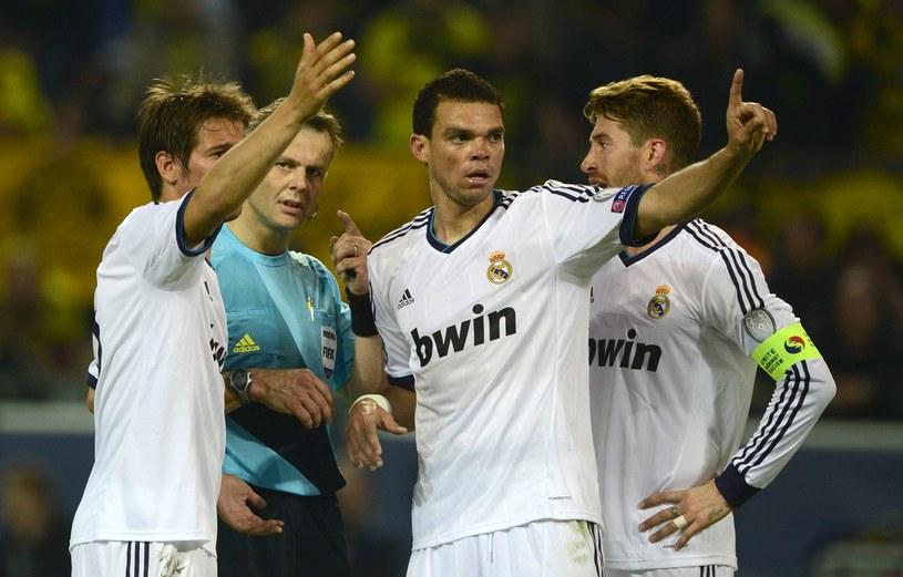 Piłkarze Realu chcąc awansować do finału Ligi Mistrzów, muszą odrobić trzybramkową stratę z pierwszego meczu z Borussią /AFP