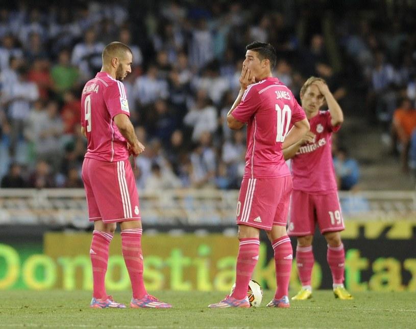 Piłkarze Realu kiepsko zaprezentowali się w San Sebastian /AFP