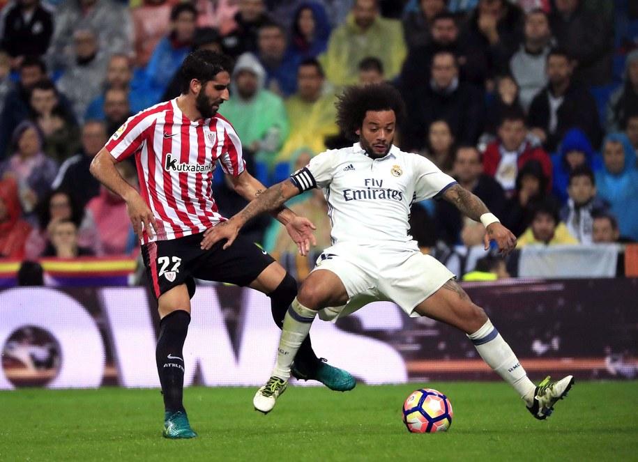 Piłkarze Realu Madryt pokonali u siebie Athletic Bilbao 2:1 /Zipi /PAP/EPA