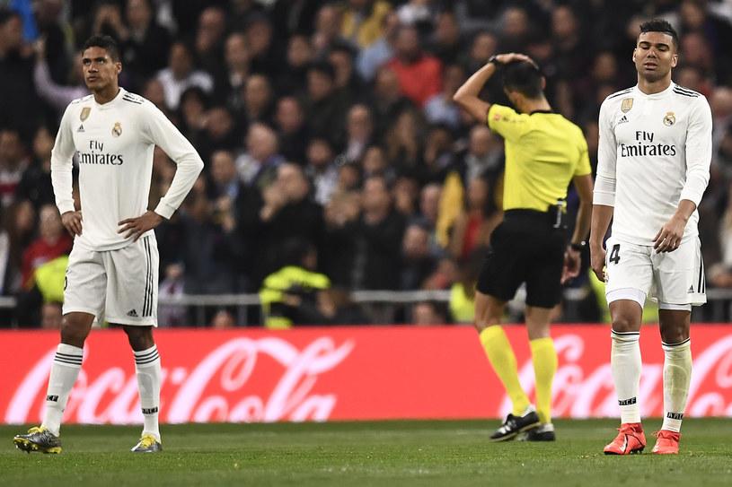 Piłkarze Realu Madryt w sobotę znów zmierzą się z FC Barcelona /AFP
