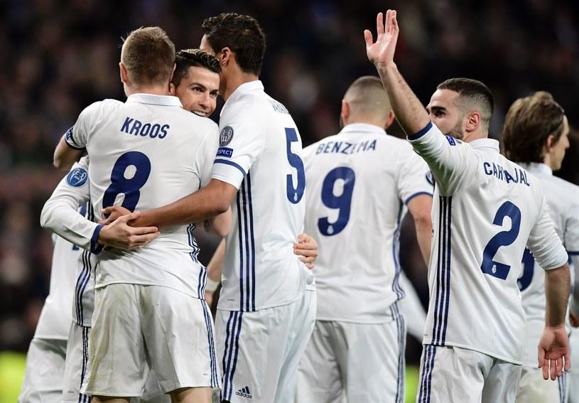 Piłkarze Realu Madryt /AFP
