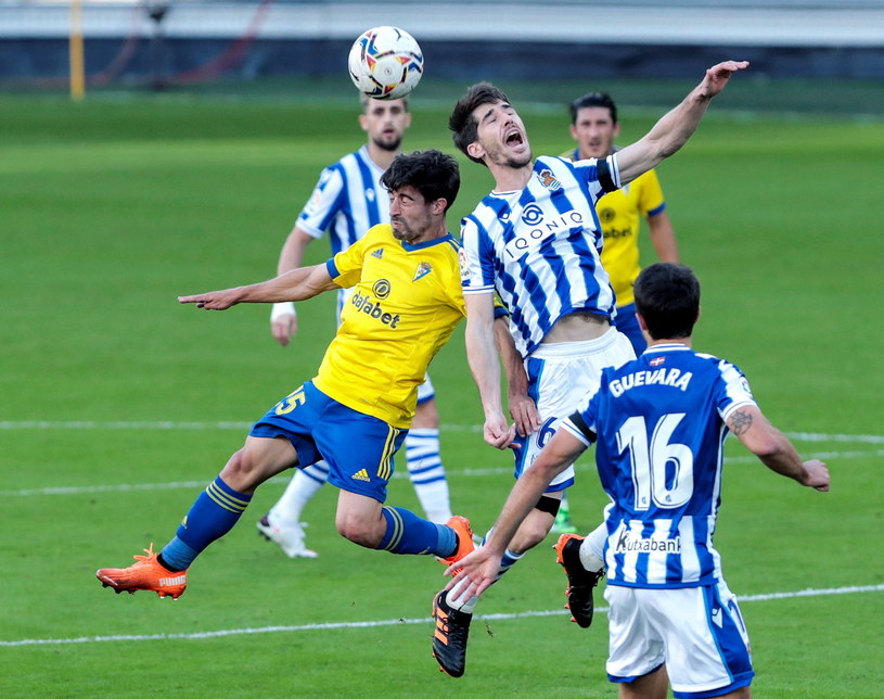 Piłkarze Realu Sociedad świetnie spisują się w tym sezonie /PAP/EPA