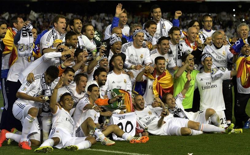 Piłkarze Realu zdobyli Puchar Króla /AFP