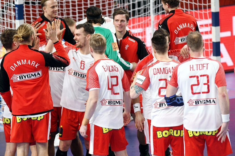 Piłkarze ręczni Danii /AFP