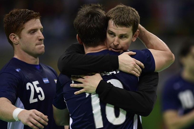 Piłkarze ręczni reprezentacji Argentyny /AFP