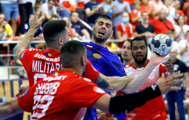 Piłkarze ręczni Vive Kielce przegrało z Dinamem Bukareszt /ROBERT GHEMENT /PAP/EPA