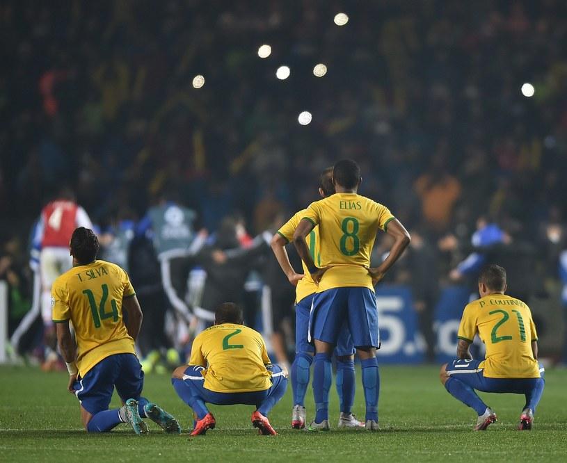 Piłkarze reprezentacji Brazylii /AFP