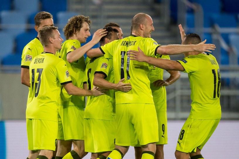 Piłkarze reprezentacji Czech /AFP