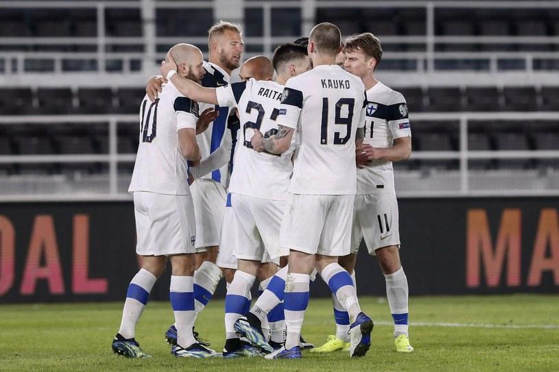 Piłkarze reprezentacji Finlandii /AFP