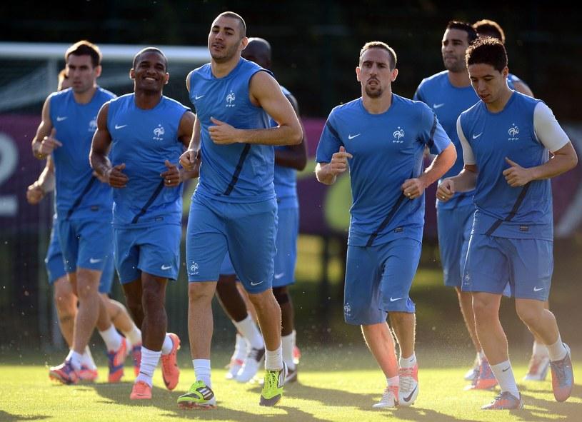 Piłkarze reprezentacji Francji nie dostali premii za Euro 2012, ponieważ zachowywali się nieprofesjonalnie /AFP