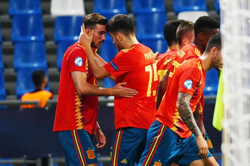 Piłkarze reprezentacji Hiszpanii /PAP/EPA