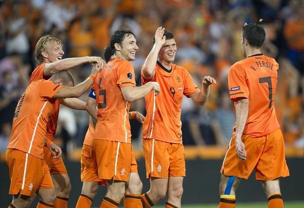 Piłkarze reprezentacji Holandii /AFP