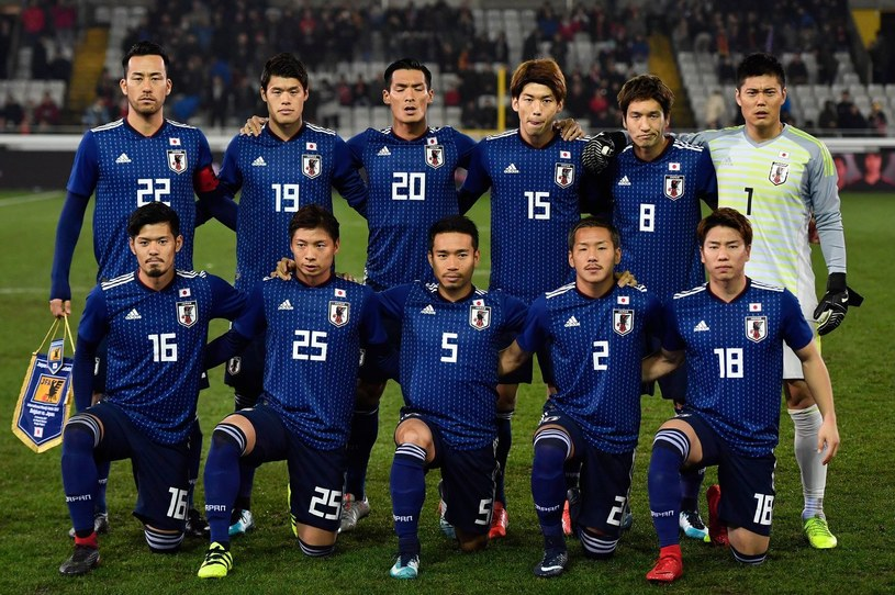 Piłkarze reprezentacji Japonii /AFP