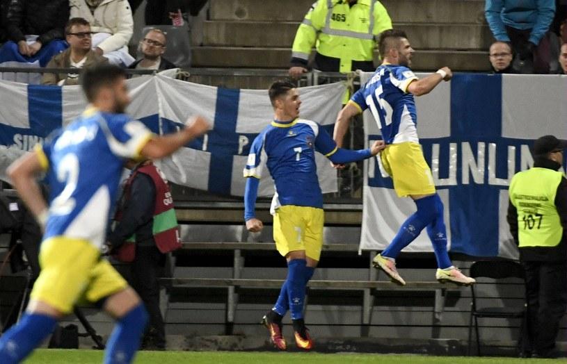 Piłkarze reprezentacji Kosowa /AFP