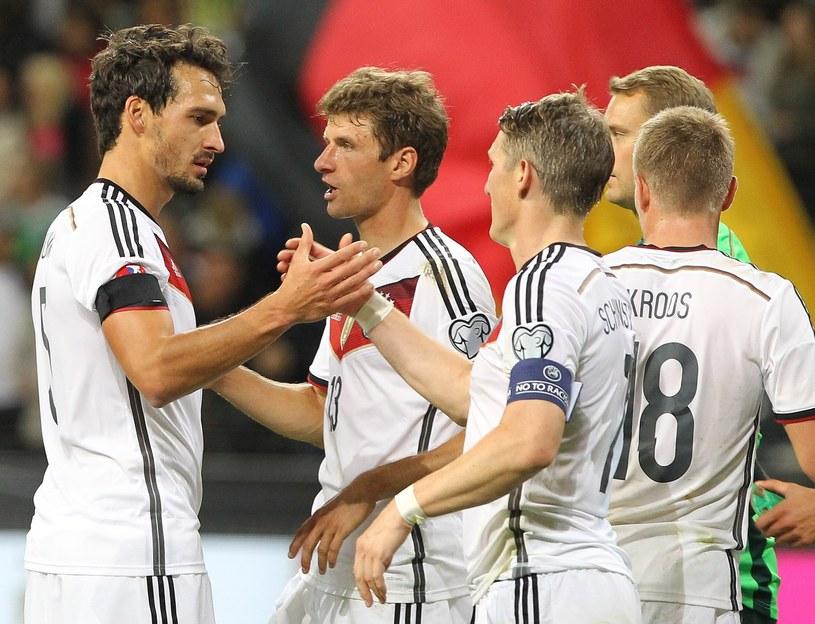 Piłkarze reprezentacji Niemiec /AFP