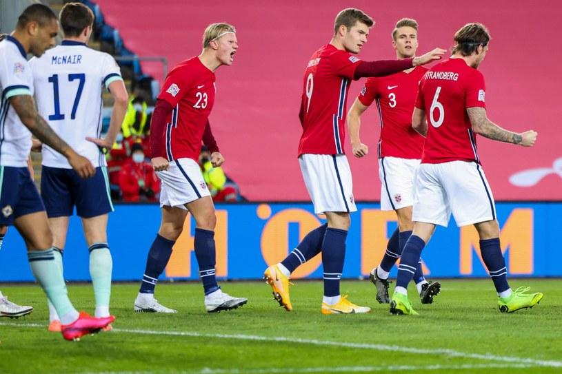 Piłkarze reprezentacji Norwegii /AFP