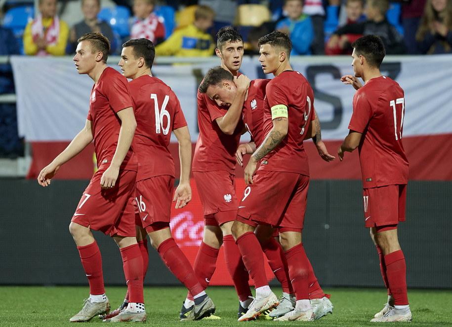 Piłkarze reprezentacji Polski U-21 / Adam Warżawa    /PAP