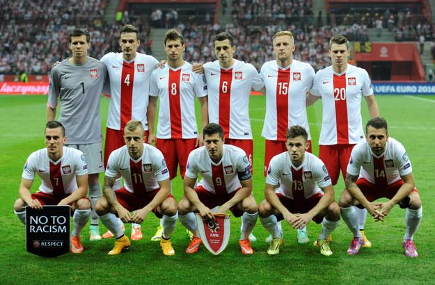 Piłkarze reprezentacji Polski /Bartłomiej Zborowski /PAP