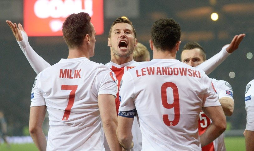 Piłkarze reprezentacji Polski /PAP