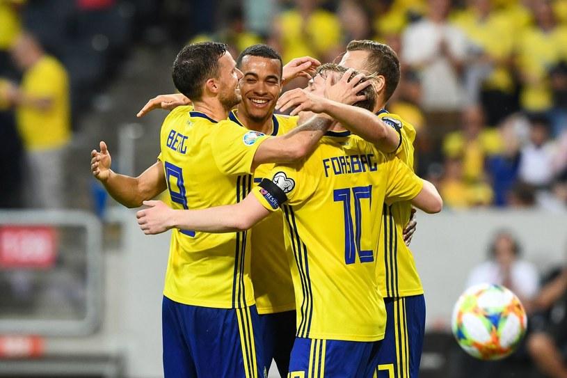 Piłkarze reprezentacji Szwecji /AFP