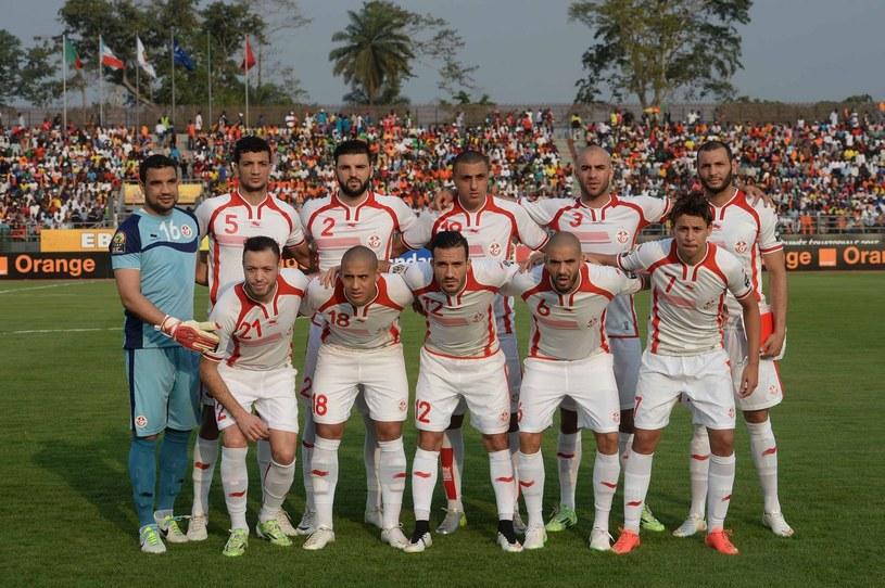 Piłkarze reprezentacji Tunezji /AFP